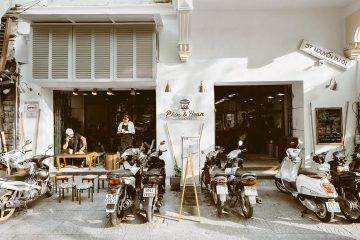 THIẾT KẾ QUÁN CAFE CÓC Ở SÀI GÒN