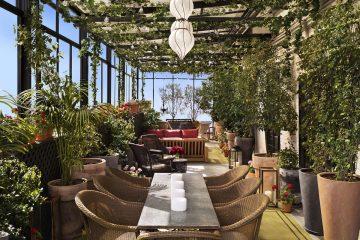 ưu điểm của cafe sân vườn