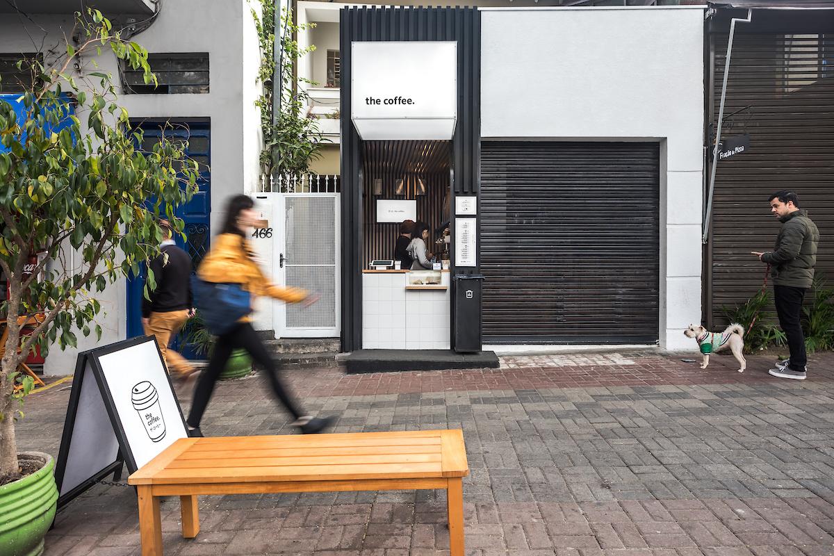 thiết kế quán cafe take away đẹp