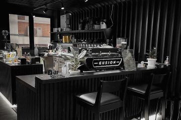 Đầu Tư Quán Cafe Tone Đen