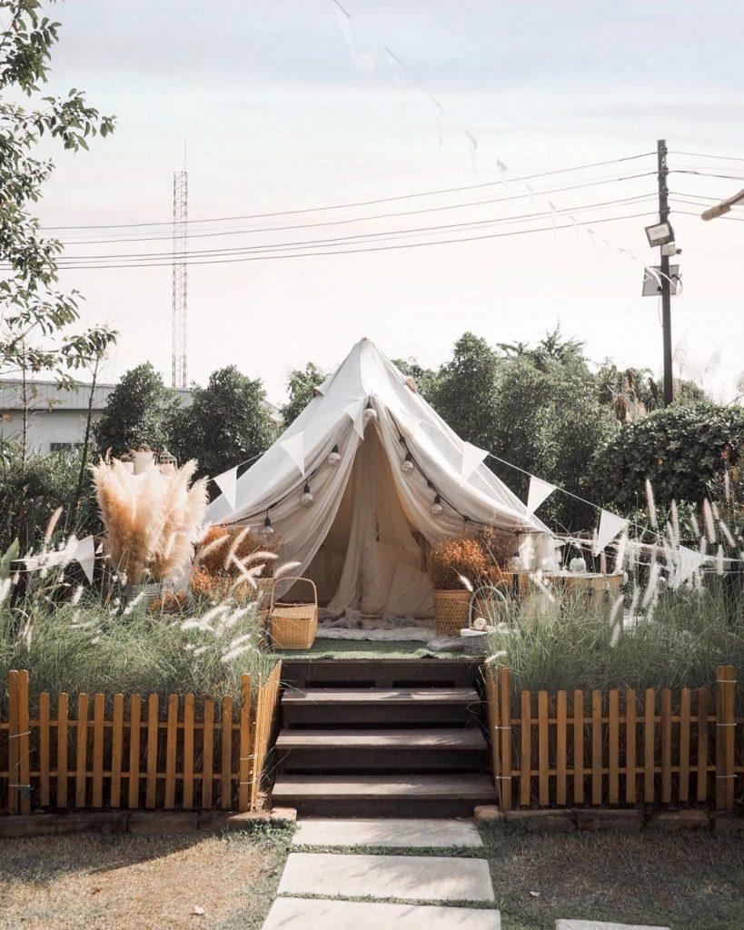 Quán Cafe Sân Vườn Ở Hà Tĩnh