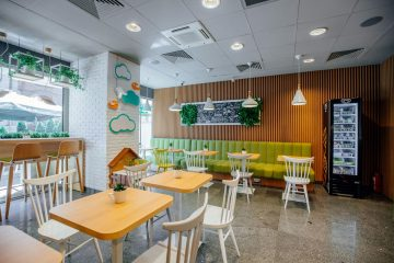 QUÁN CAFE Ở VINCOM