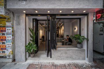 Quán Cafe Tông Xám