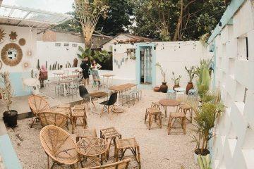 Quán Cafe Sân Vườn Ở Đà Nẵng