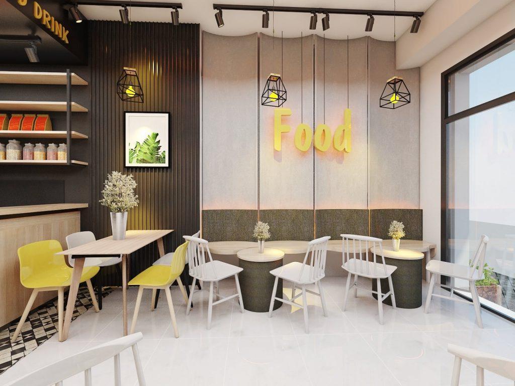 Cải Tạo Tầng 1 Nhà Ở Thành Quán Cafe