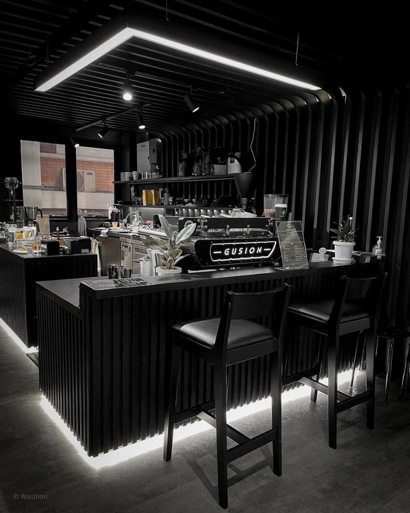 Màu Sắc Quầy Bar Quán Cafe