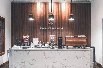 Trang Trí Quầy Bar Quán Cafe