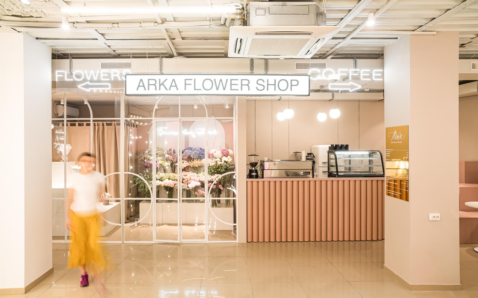 Quán Cafe Lối Đi Vòm