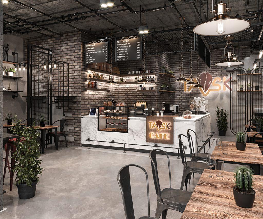 Thiết Kế Cafe Khánh Hoà