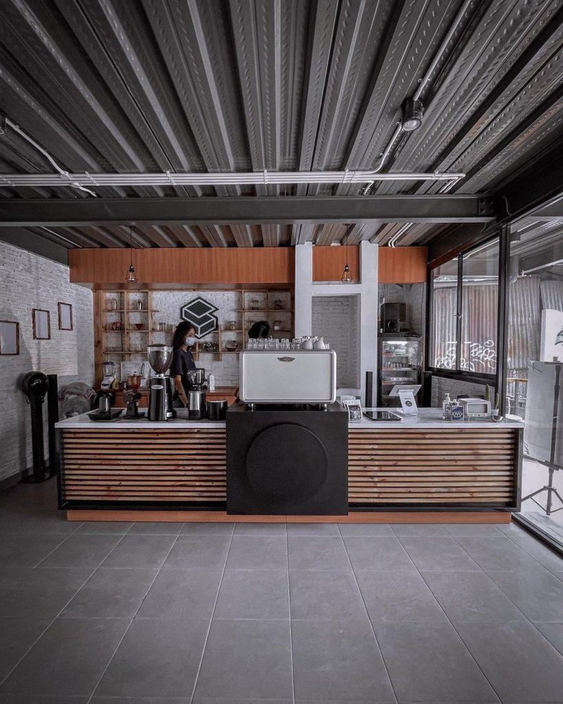 Set Up Quầy Bar Quán Cafe